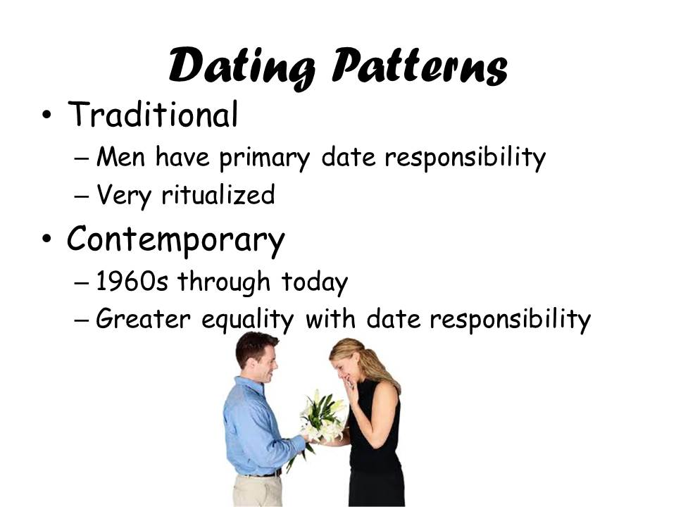 traditional and contemporary dating patterns